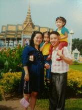 In font Royal palace, Phnom Penh ,Cambodia.2_25686411_n