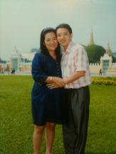 In font Royal palace, Phnom Penh ,Cambodia.3
